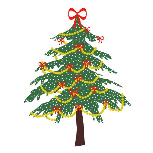 Christmas Animals Clipart Animated Christmas Tree
