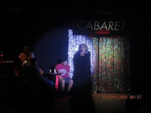 Cabaret Caliente night 2018